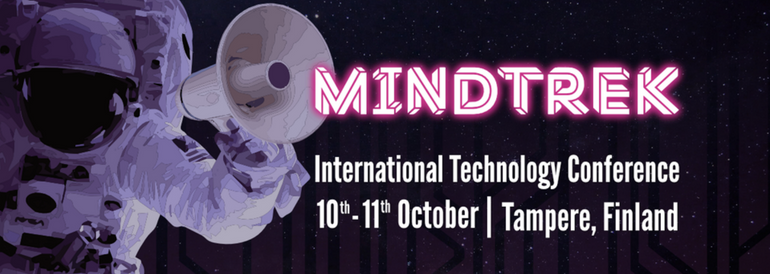Edtech as a part of the international technology conference Mindtrek on Oct 10th-11th 2018 in Tampere, Finland