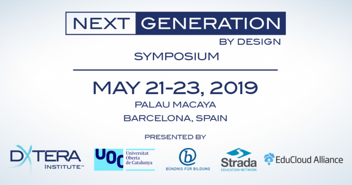 EduCloud Alliance took part in the Next Generation By Design Symposium organized in Barcelona