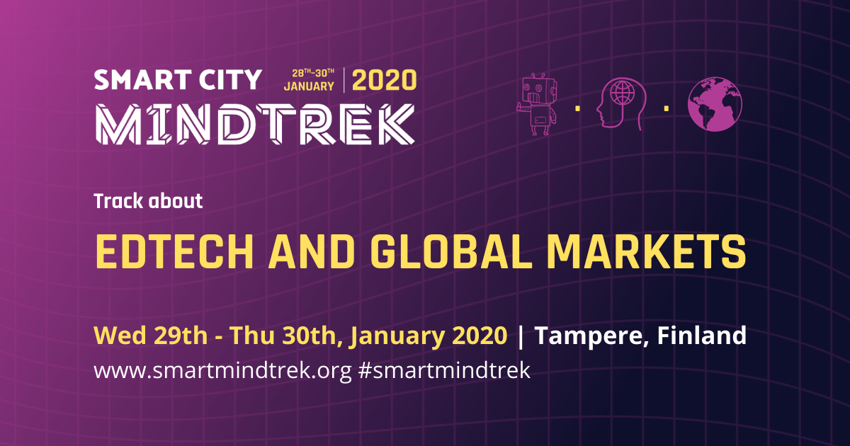 Future Edtech as a part of the international Smart City Mindtrek 2020 Technology Conference
